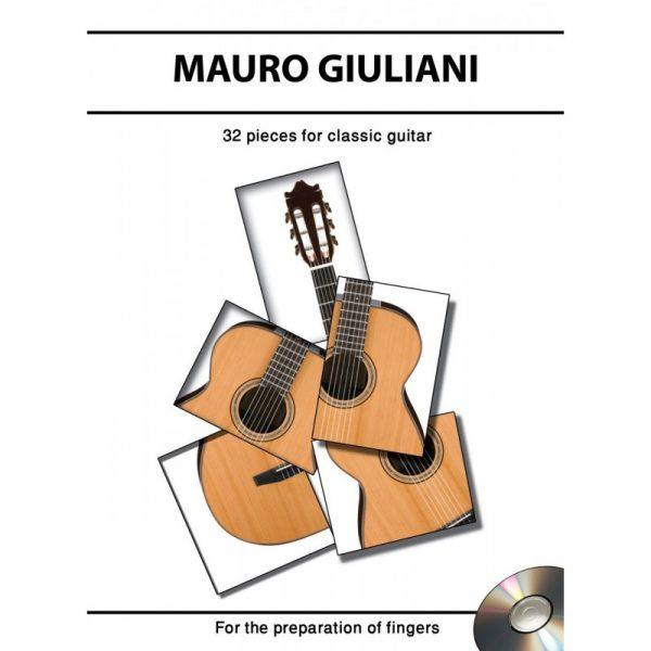 مائورو جولیانی(32قطعه سطح بندی شده گیتار کلاسیک)