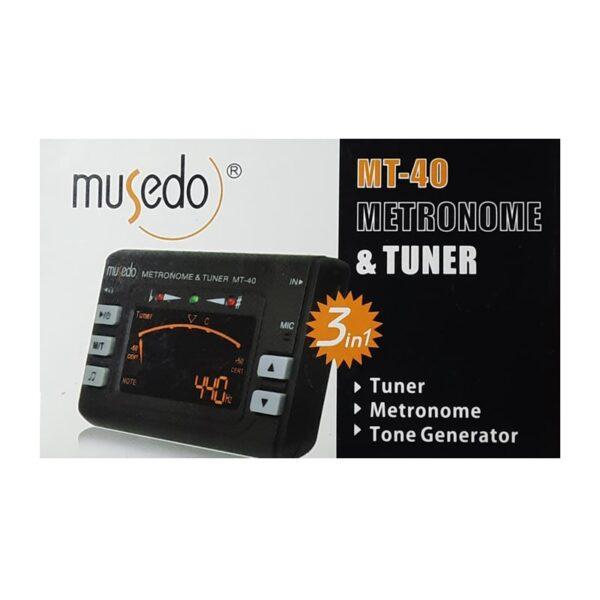مترونوم و تیونر Musedo MT40 3