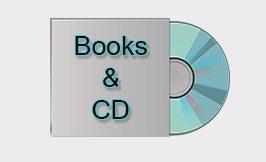 تصویر دسته کتاب و cd